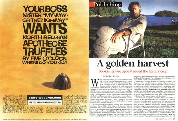 Article Preview: A golden harvest, SEPTEMBER 8,1997 1997 | Maclean's