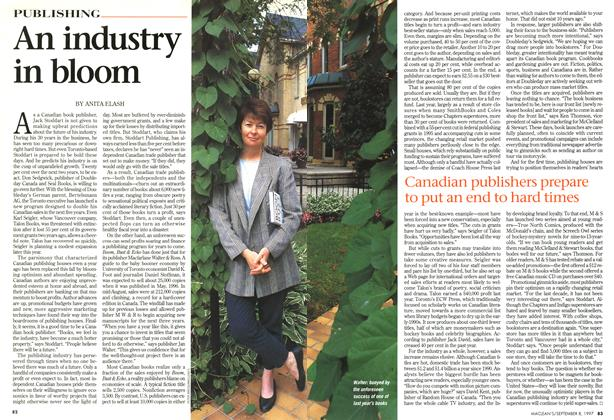 Article Preview: An industry in bloom, SEPTEMBER 8,1997 1997 | Maclean's