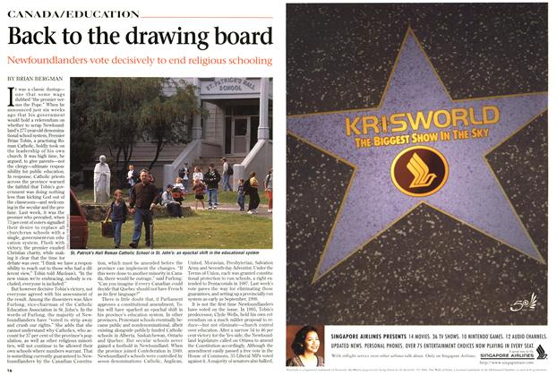 Article Preview: Back to the drawing board, September 1997 | Maclean's