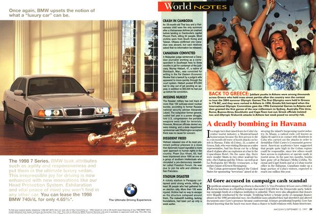 Article Preview: World NOTES, September 1997 | Maclean's
