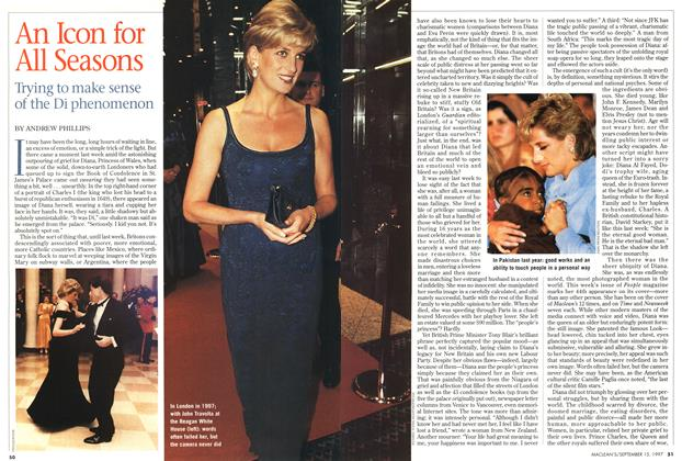 Article Preview: An Icon for All Seasons, September 1997 | Maclean's