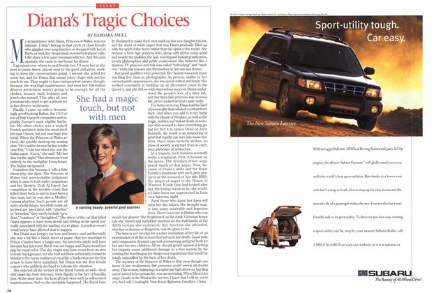 Article Preview: Diana's Tragic Choices, September 1997 | Maclean's