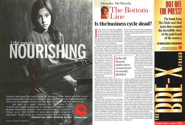 Article Preview: The Bottom Line, September 1997 | Maclean's
