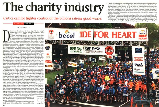 Article Preview: SPECIAL REPORT The charity industry, September 1997 | Maclean's