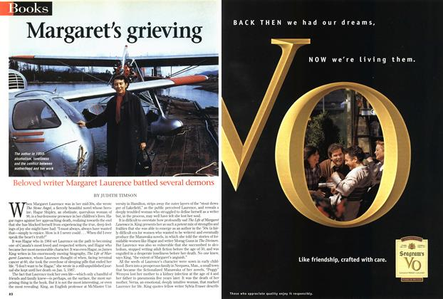 Article Preview: Margaret's grieving, September 1997 | Maclean's