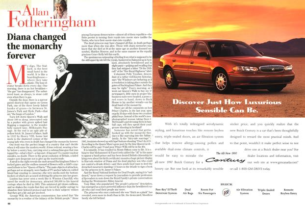Article Preview: Diana changed the monarchy forever, September 1997   Maclean's