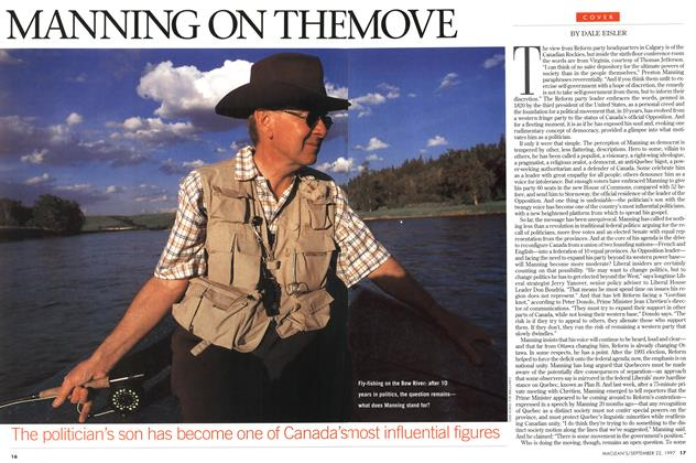 Article Preview: MANNING ON THE MOVE, September 1997 | Maclean's