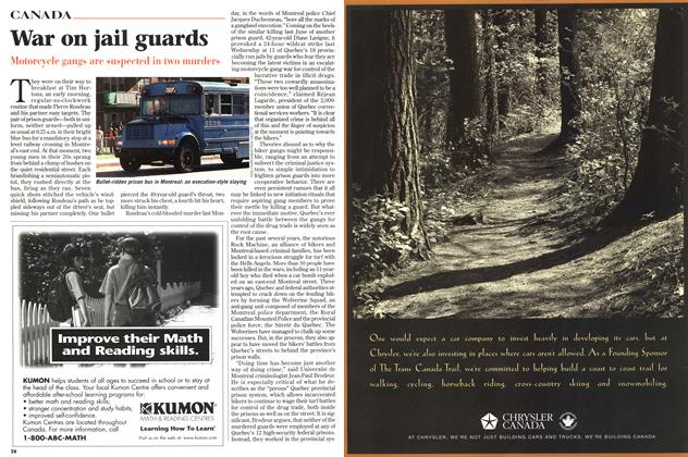 Article Preview: War on jail guards, September 1997   Maclean's