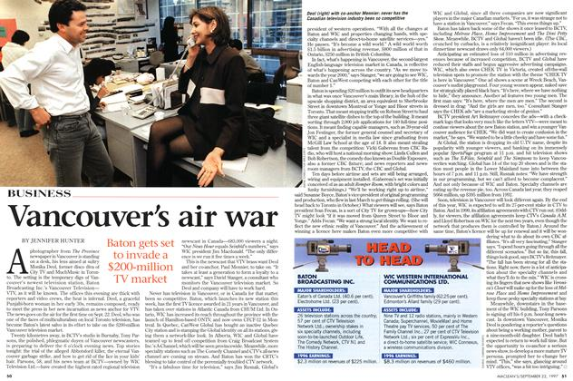 Article Preview: Vancouver s air war, September 1997 | Maclean's