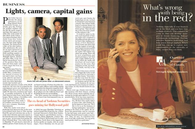 Article Preview: Lights, camera, capital gains, September 1997 | Maclean's