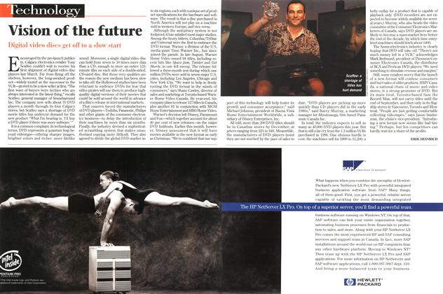 Article Preview: Vision of the future, September 1997 | Maclean's
