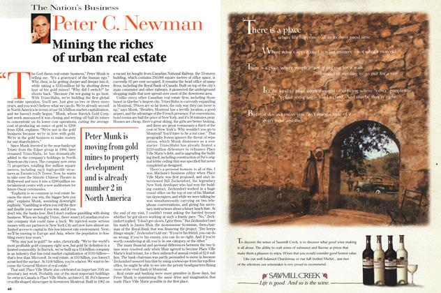Article Preview: Mining the riches of urban real estate, September 1997 | Maclean's