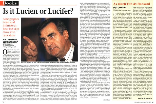 Article Preview: Is it Lucien or Lucifer?, September 1997 | Maclean's