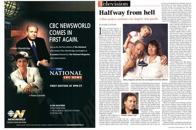 Article Preview: Halfway from hell, September 1997 | Maclean's