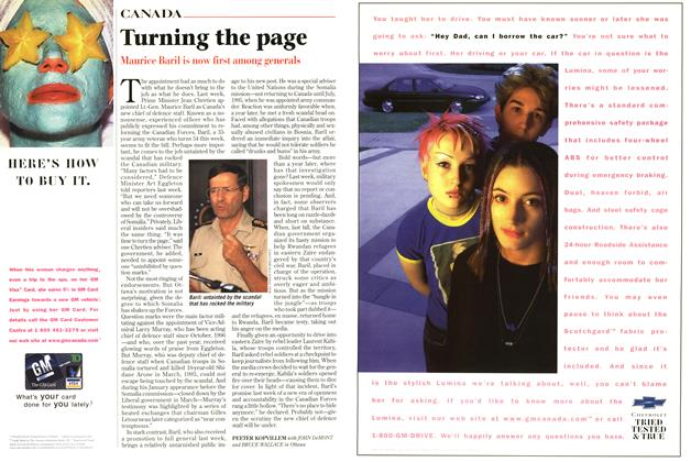 Article Preview: Turning the page, September 1997 | Maclean's