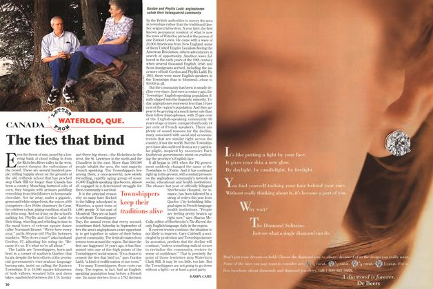 Article Preview: The ties that bind, September 1997 | Maclean's