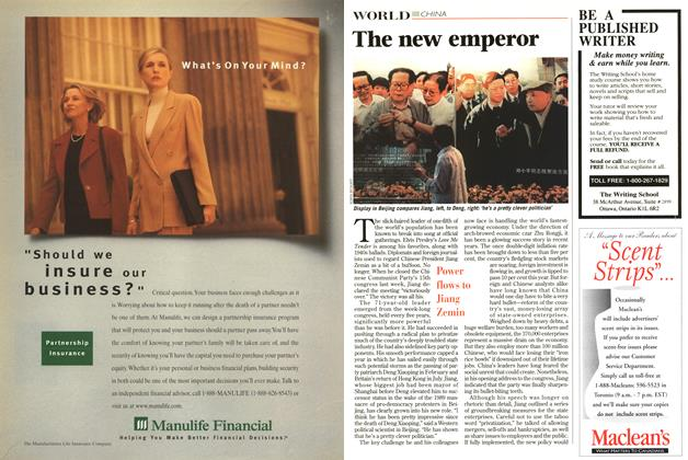 Article Preview: The new emperor, September 1997 | Maclean's