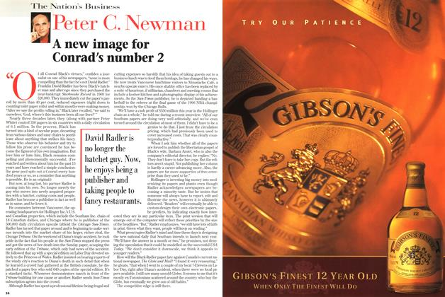 Article Preview: A new image for Conrad's number 2, September 1997   Maclean's