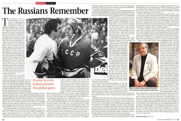 Article Preview: The Russians Remember, September 1997 | Maclean's