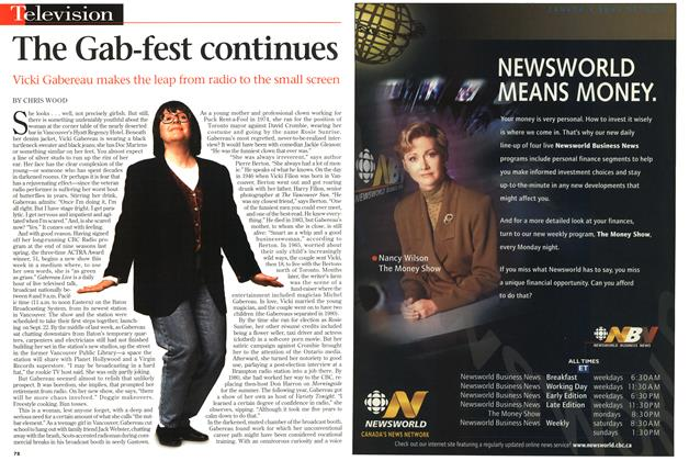 Article Preview: The Gab-fest continues, September 1997   Maclean's