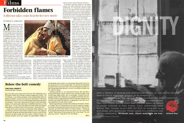 Article Preview: Forbidden flames, September 1997 | Maclean's