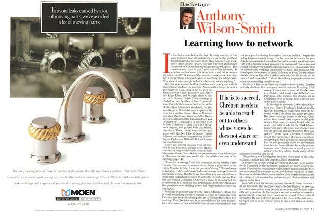 Article Preview: Learning how to network, September 1997 | Maclean's