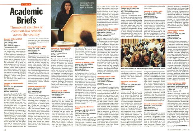 Article Preview: Academic Briefs, October 1997 | Maclean's