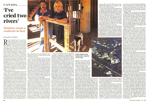 Article Preview: I've cried two rivers', October 1997 | Maclean's