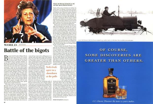 Article Preview: Battle of the bigots, October 1997 | Maclean's