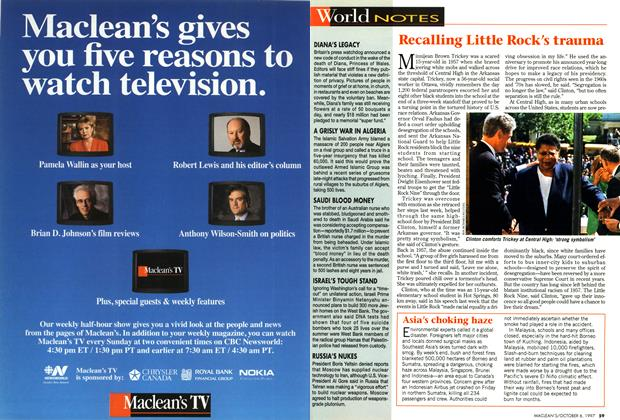 Article Preview: World NOTES, October 1997 | Maclean's