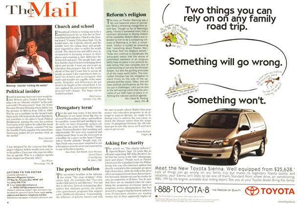 Article Preview: TheMail, October 1997 | Maclean's