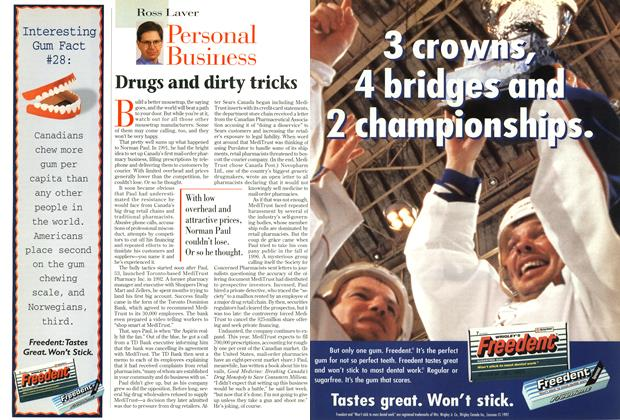 Article Preview: Drugs and dirty tricks, October 1997 | Maclean's