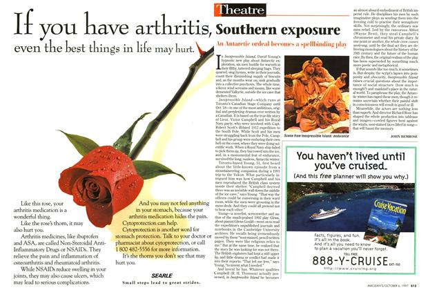 Article Preview: Southern exposure, October 1997 | Maclean's