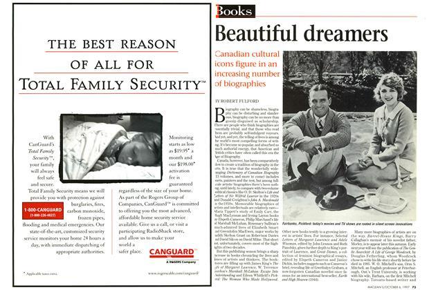 Article Preview: Beautiful dreamers, October 1997 | Maclean's