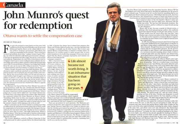 Article Preview: John Munro's quest for redemption, October 1997 | Maclean's
