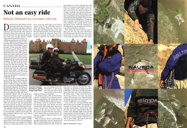 Article Preview: Not an easy ride, October 1997 | Maclean's