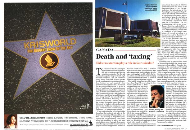 Article Preview: Death and 'taxing', October 1997 | Maclean's