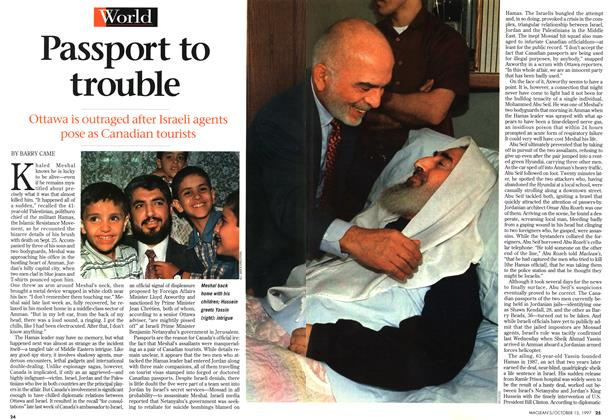 Article Preview: Passport to trouble, October 1997 | Maclean's