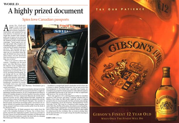 Article Preview: A highly prized document, October 1997 | Maclean's