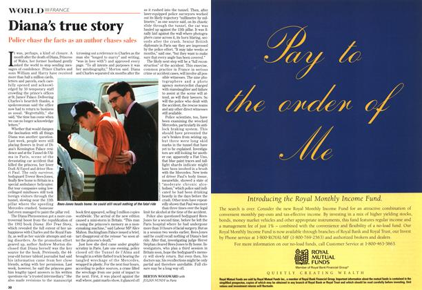 Article Preview: Diana's true story, October 1997 | Maclean's