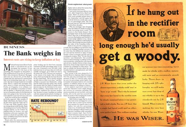 Article Preview: The Bank weighs in, October 1997 | Maclean's
