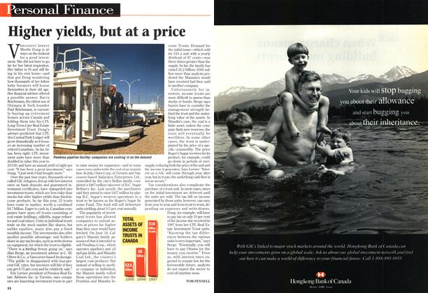 Article Preview: Higher yields, but at a price, October 1997 | Maclean's
