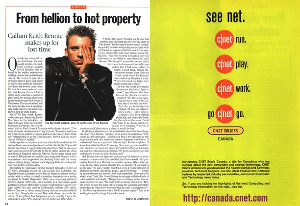 Article Preview: From hellion to hot property, October 1997 | Maclean's