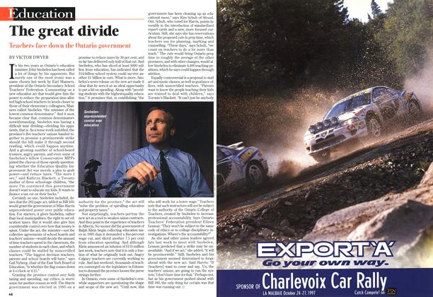 Article Preview: The great divide, October 1997 | Maclean's
