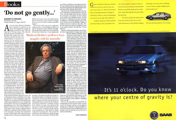Article Preview: `Do not go gently...', October 1997 | Maclean's