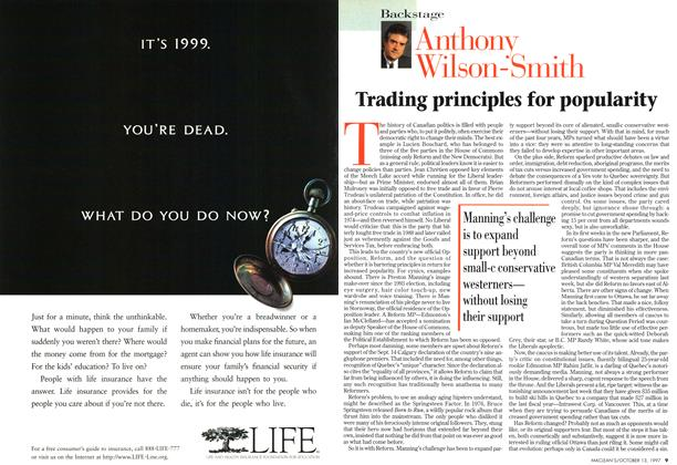 Article Preview: Trading principles for popularity, October 1997 | Maclean's