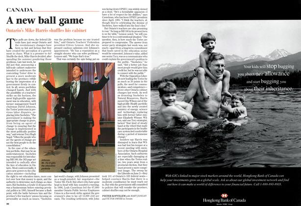 Article Preview: A new ball game, October 1997 | Maclean's