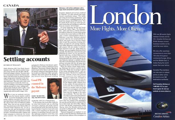 Article Preview: Settling accounts, October 1997 | Maclean's