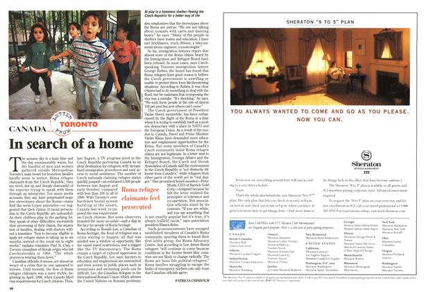 Article Preview: In search of a home, October 1997 | Maclean's