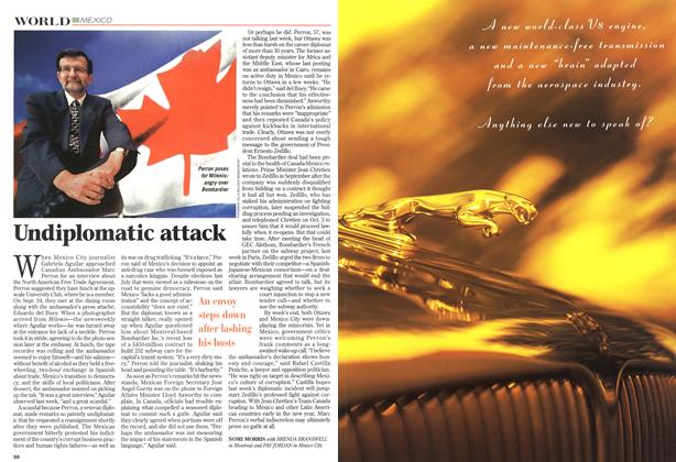 Article Preview: Undiplomatic attack, October 1997 | Maclean's